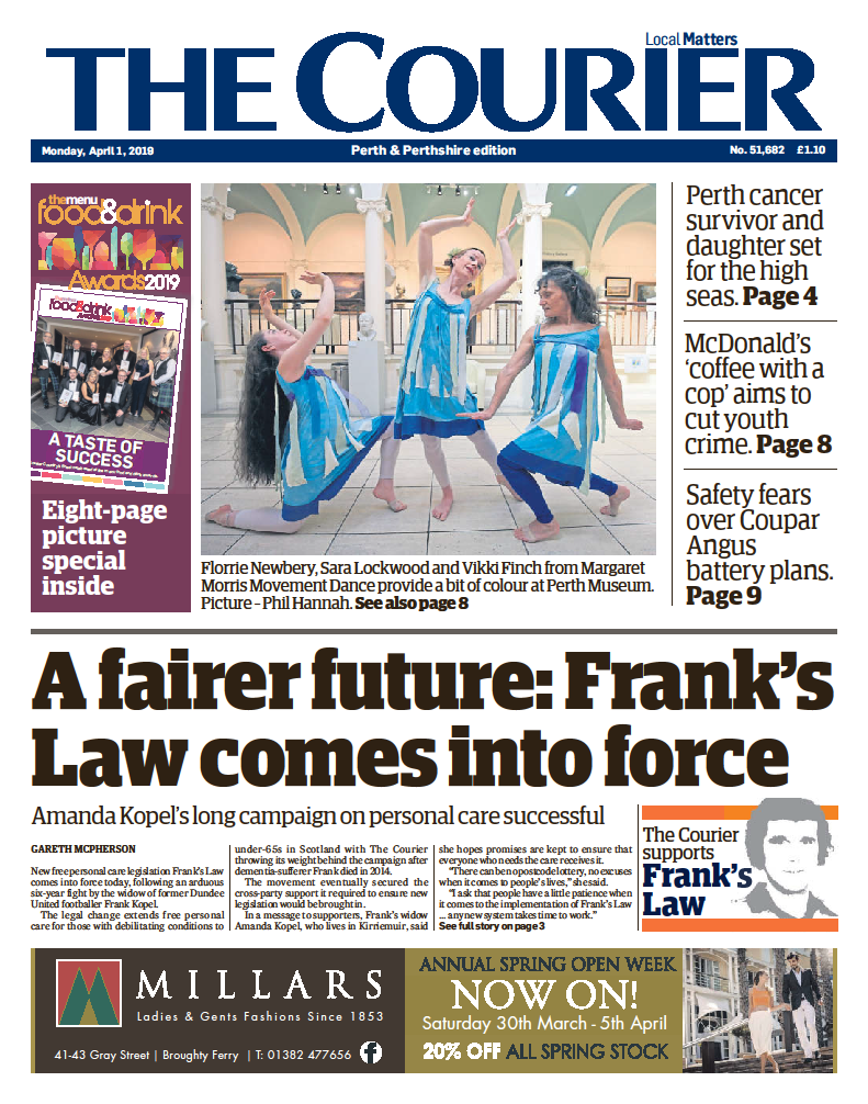 The Courier Franks Law April 2019