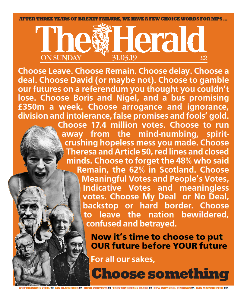 The Herald on Sunday Choose Something